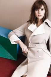 Felicity Jones - InStyle Magazine Photoshoot - December 2014