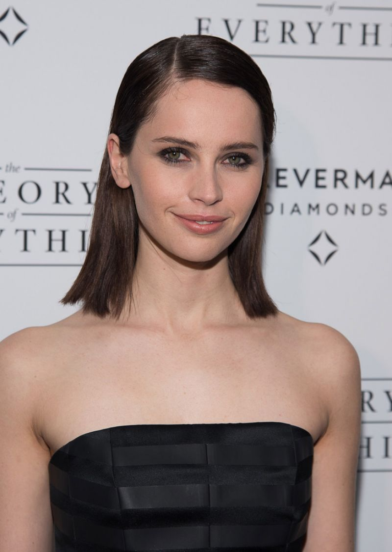 Felicity Jones - Lighthouse International Theater in New York City - November 2014