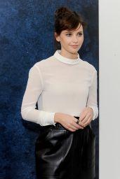Felicity Jones - Variety Studio: Actors On Actors in Los Angeles - November 2014