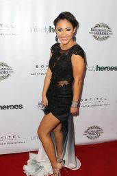 Francia Raisa - 2014 Unlikely Heroes Awards Dinner And Gala in Los Angeles