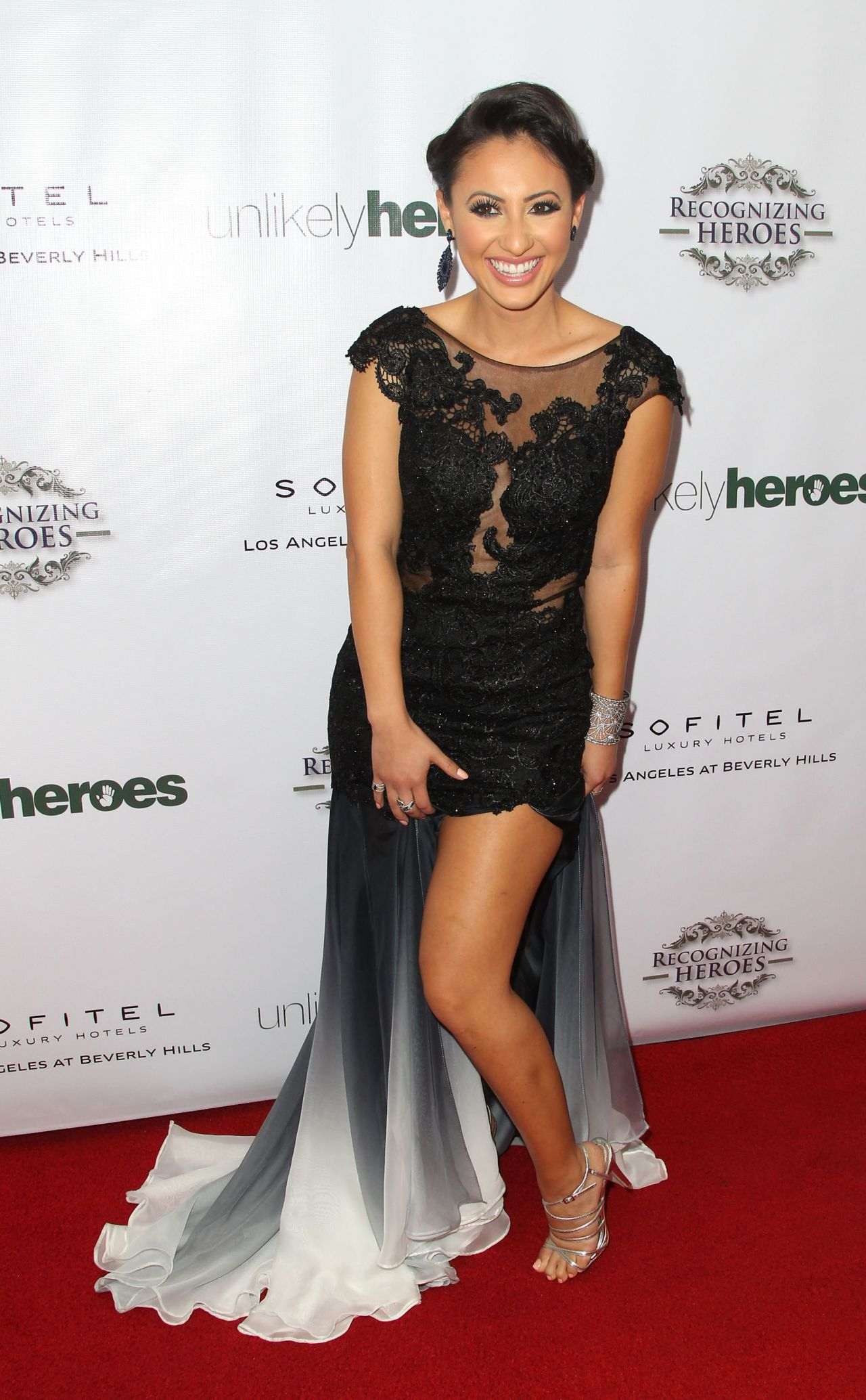 Francia Raisa - 2014 Unlikely Heroes Awards Dinner And ...