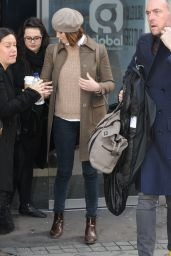Gemma Arterton Style - Out in London - November 2014