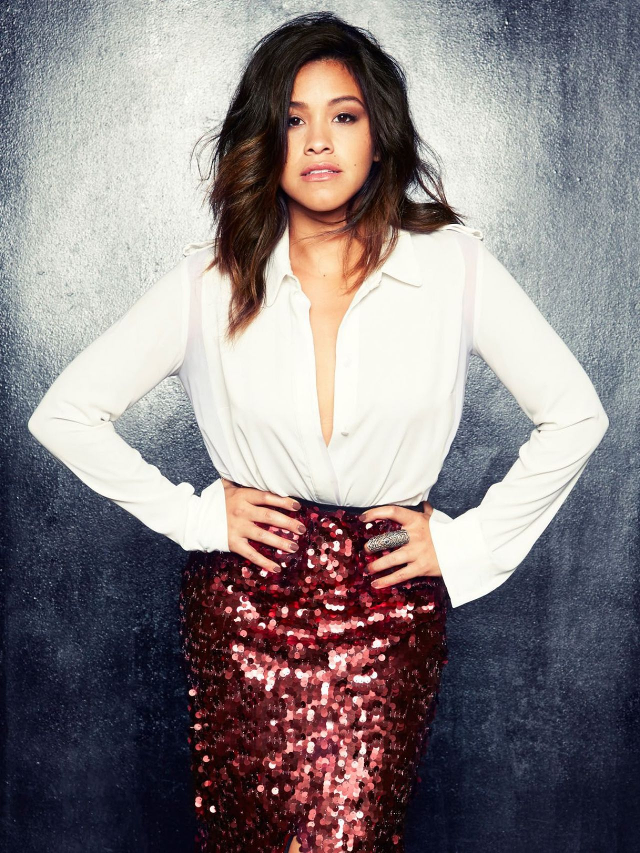 Gina Rodriguez - Photoshoot for BELLO Magazine November 2014