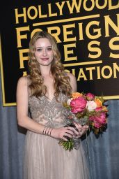 Greer Grammer - HFPA & InStyle Celebrate 2015 Golden Globe Award Season in West Hollywood