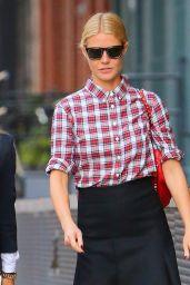 Gwyneth Paltrow Street Fashion - on the Streets of New York City - November 2014