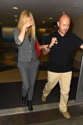 Gwyneth Paltrow Style - at LAX Airport - November 2014