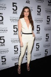 Hailee Steinfeld - Topshop Topman Opening Dinner in New York City