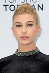 Hailey Baldwin in Mini Dress - Topshop Topman Flagship Store Opening in New York City