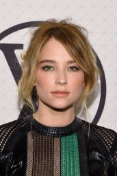 Haley Bennett – Louis Vuitton Monogram Celebration in New York City
