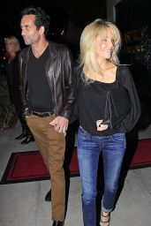 Heather Locklear Night Out Style -Out in Beverly Hills - November 2014