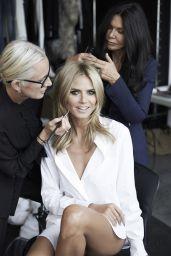 Heidi Klum - ad Campaign for Sharper Image 2014