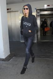 Heidi Klum at LAX Airport - November 2014