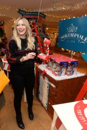 Hilary Duff at the Hallmark Gold Crown Store in New York City - Nov. 2014
