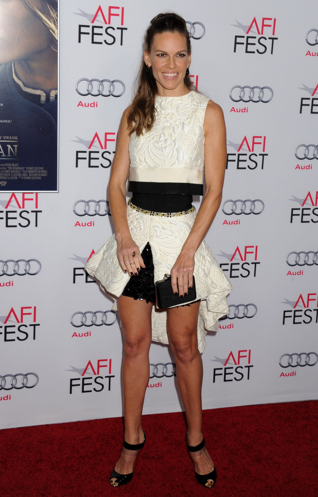 Hilary Swank The Homesman Premiere In Hollywood Afi