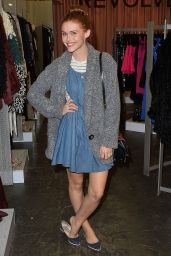 Holland Roden at the Revolve PopUp Store in Los Angeles - November 2014