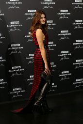 Isabeli Fontana - 2015 Pirelli Calendar Red Carpet in Milan