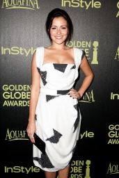 Italia Ricci – HFPA & InStyle Celebrate 2015 Golden Globe Award Season in West Hollywood