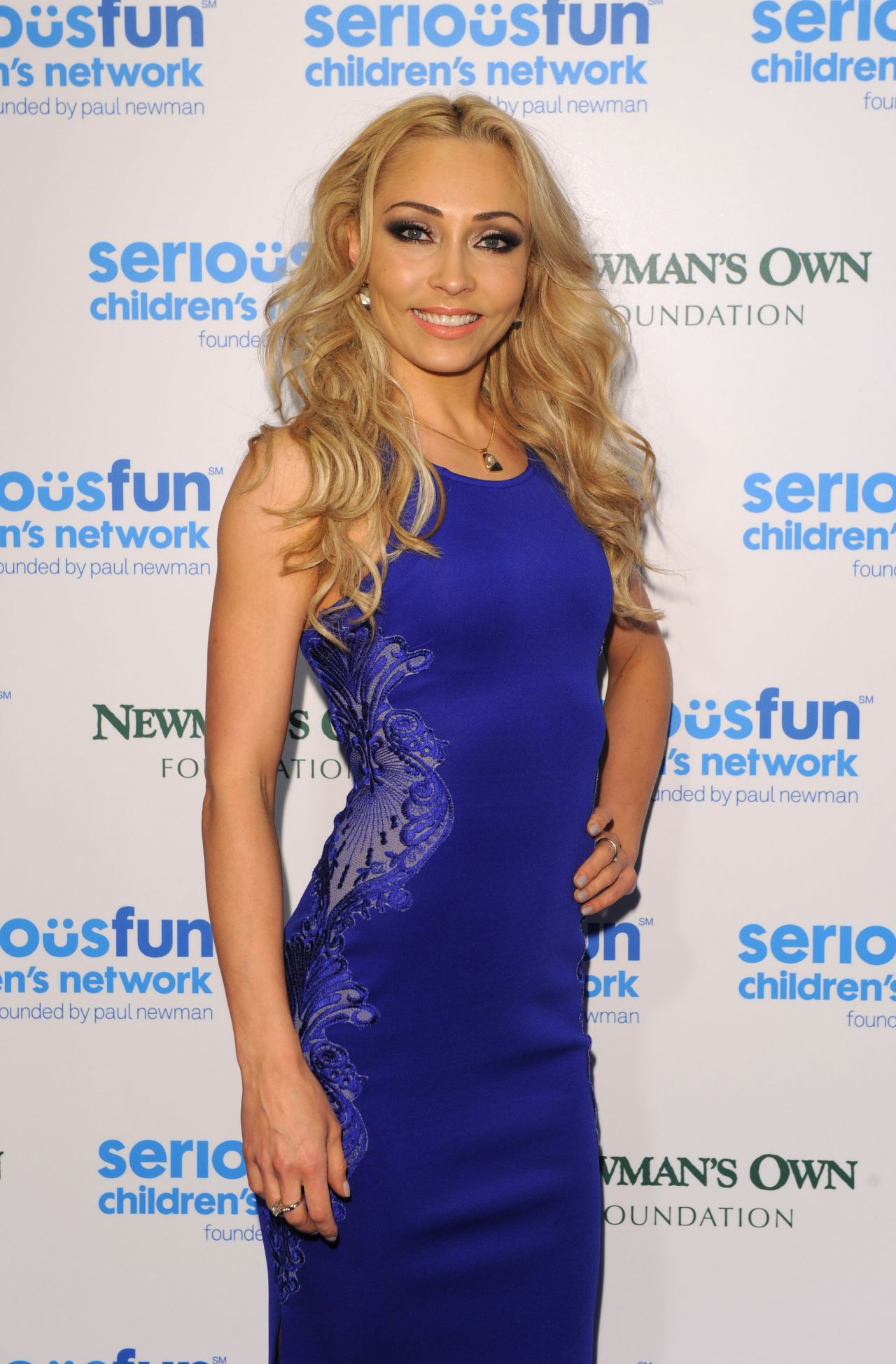 Iveta Lukosiute – 2014 SeriousFun Gala – Roundhouse in London