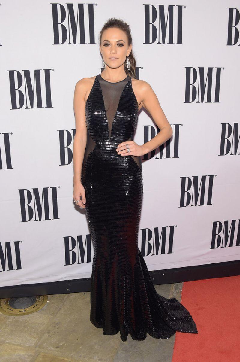 Jana Kramer 2014 Bmi Country Awards In Nashville