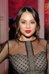 Janel Parrish – REVOLVE Pop-Up Launch Party in Los Angeles