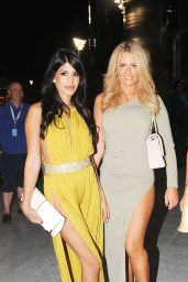 Jasmin Walia - at the 2014 Formula One in Abu Dhabi