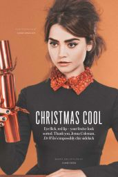 Jenna Louise-Coleman - InStyle Magazine (UK) - December 2014 Issue