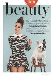 Jenna Louise-Coleman - InStyle Magazine (UK) - December 2014 Issue