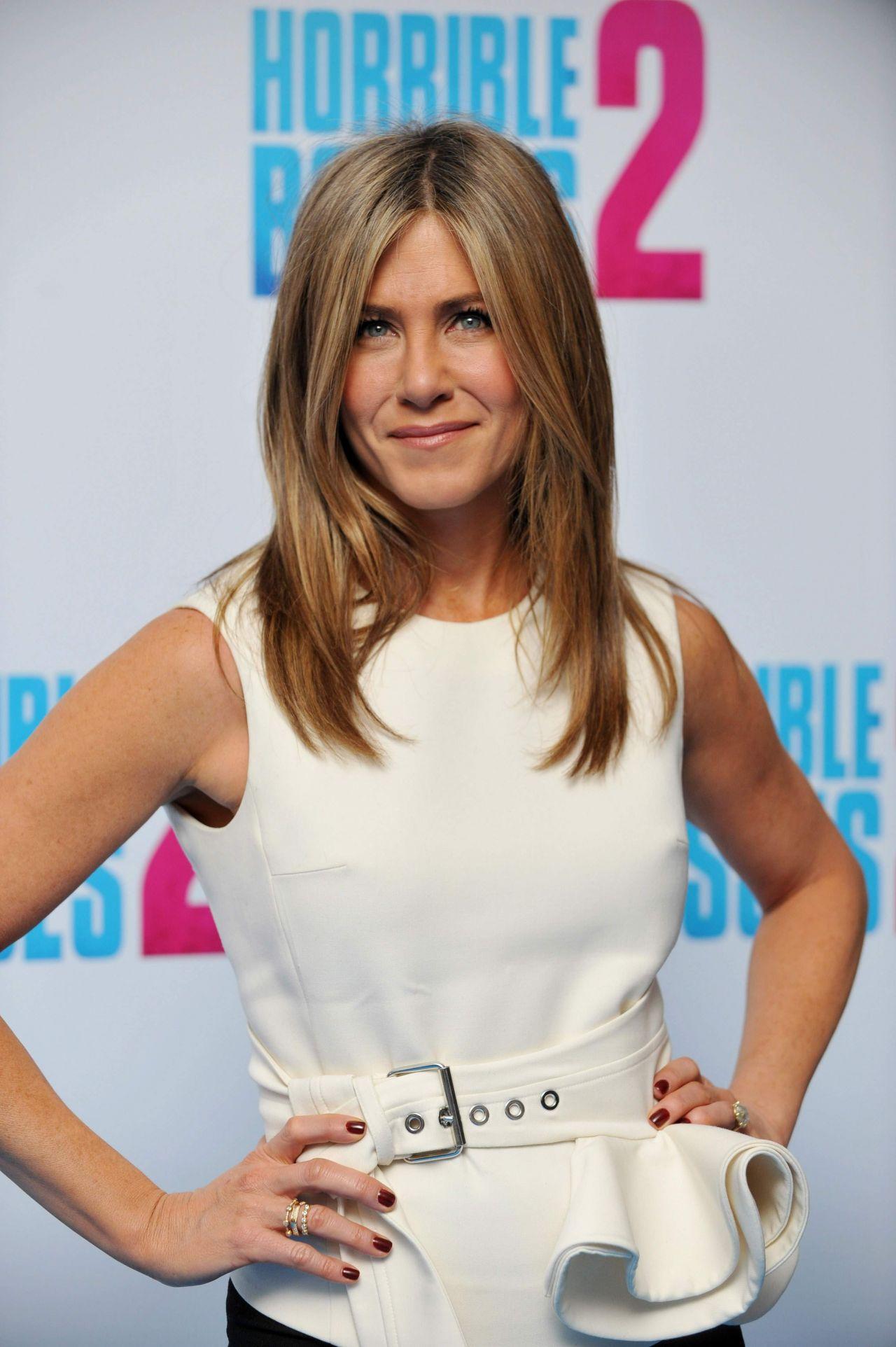 Jennifer Aniston Horrible Bosses 2 Photocall In London