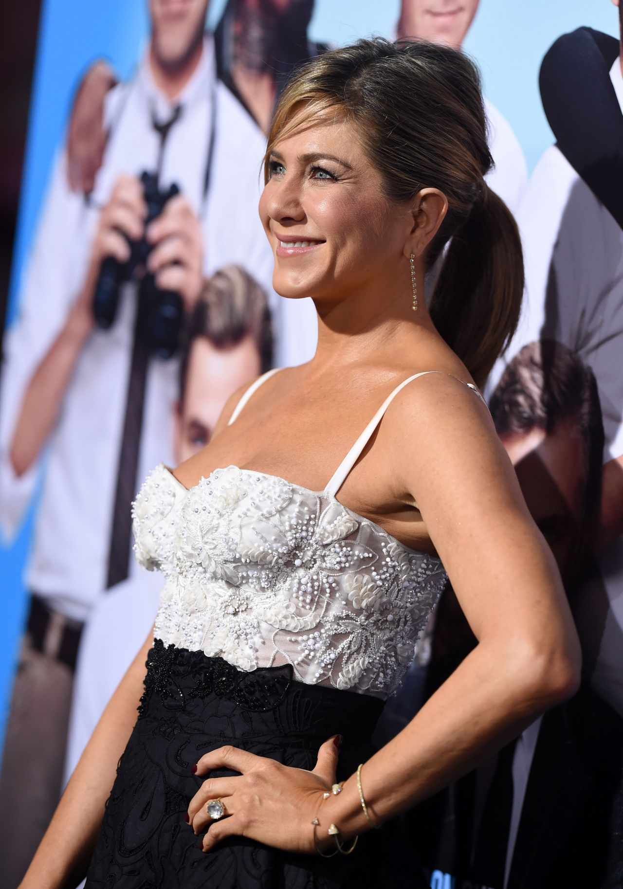 Jennifer Aniston Horrible Bosses 2 Premiere At Tcl