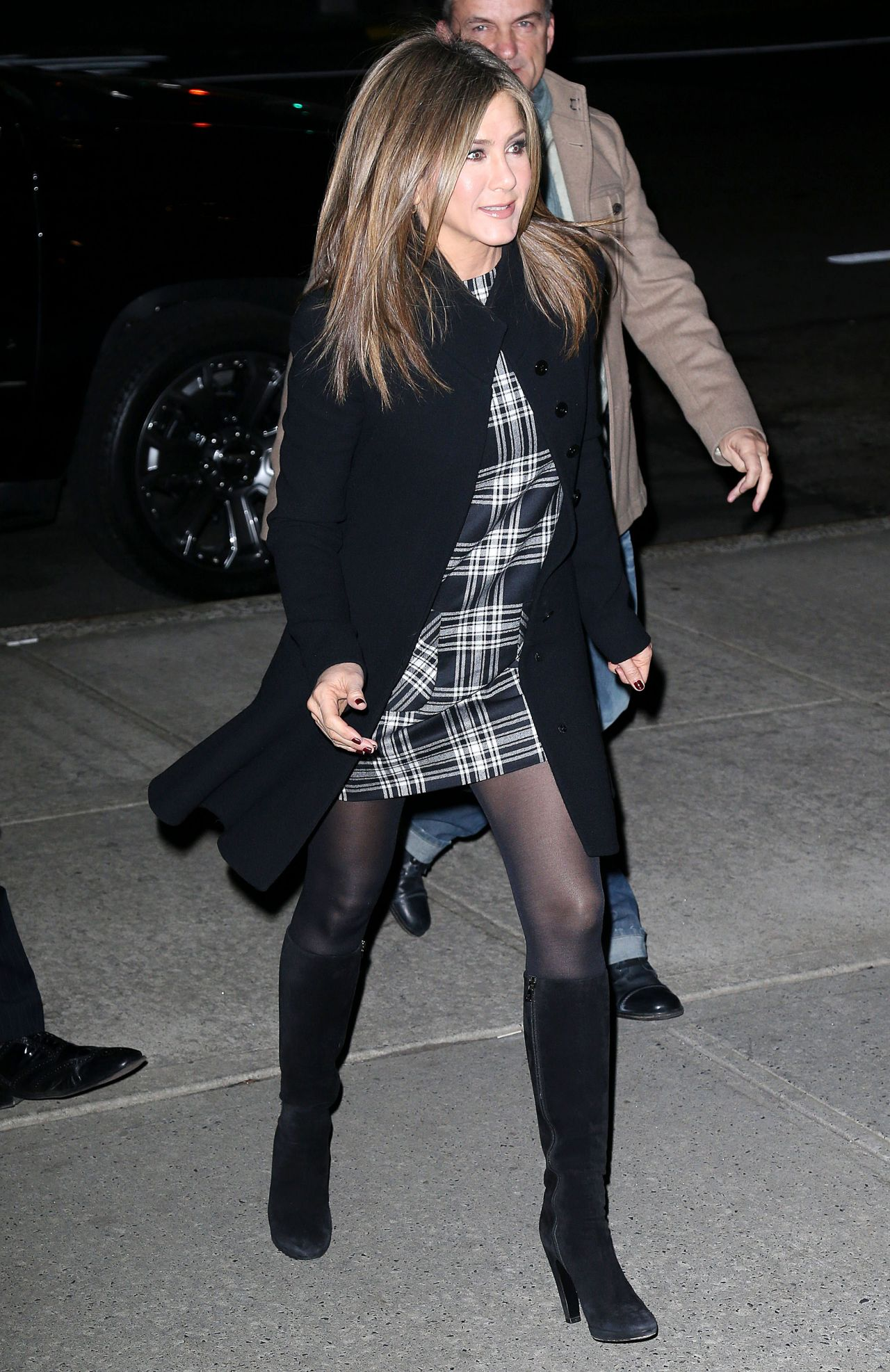 Jennifer Aniston Style 39 Cake 39 Screening In New York City