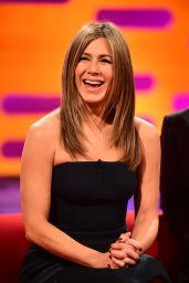Jennifer Aniston - Tapes an Appearance on
