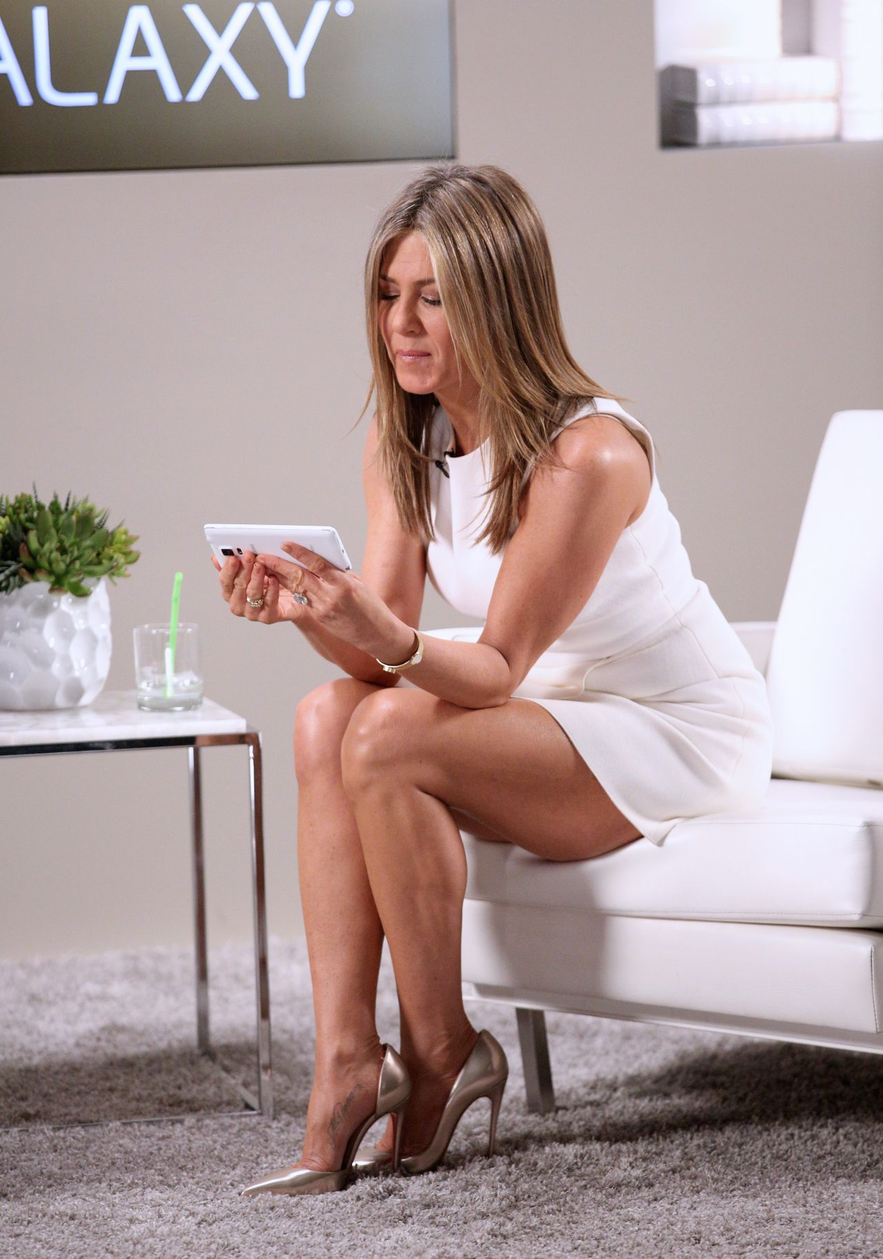 Jennifer Aniston - Variety Studio Actors On Actors Presented By Samsung Galaxy In Los -6385