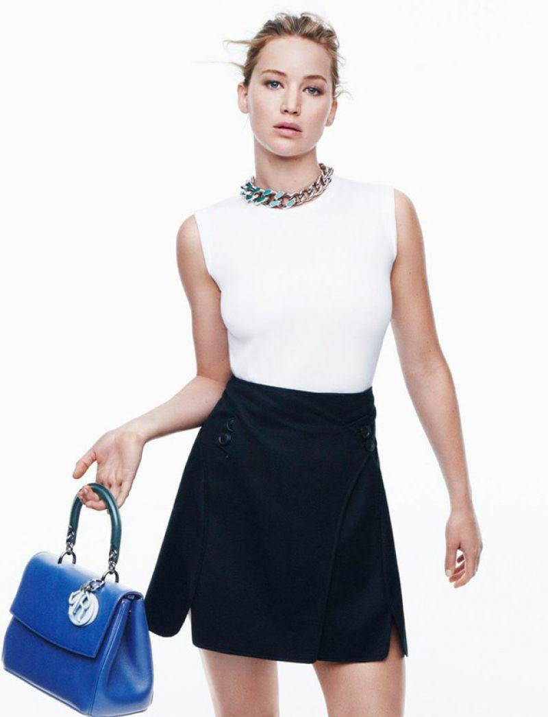Jennifer Lawrence - Christian Dior Photoshoot (2014)