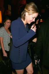 Jennifer Lawrence Night Out Style - Out in New York City - Nov. 2014