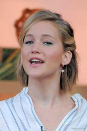 Jennifer Lawrence Tapes an Appearance on