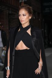Jennifer Lopez - Arriving to Appear on The Late Show with David Letterman in NYC - November 2014