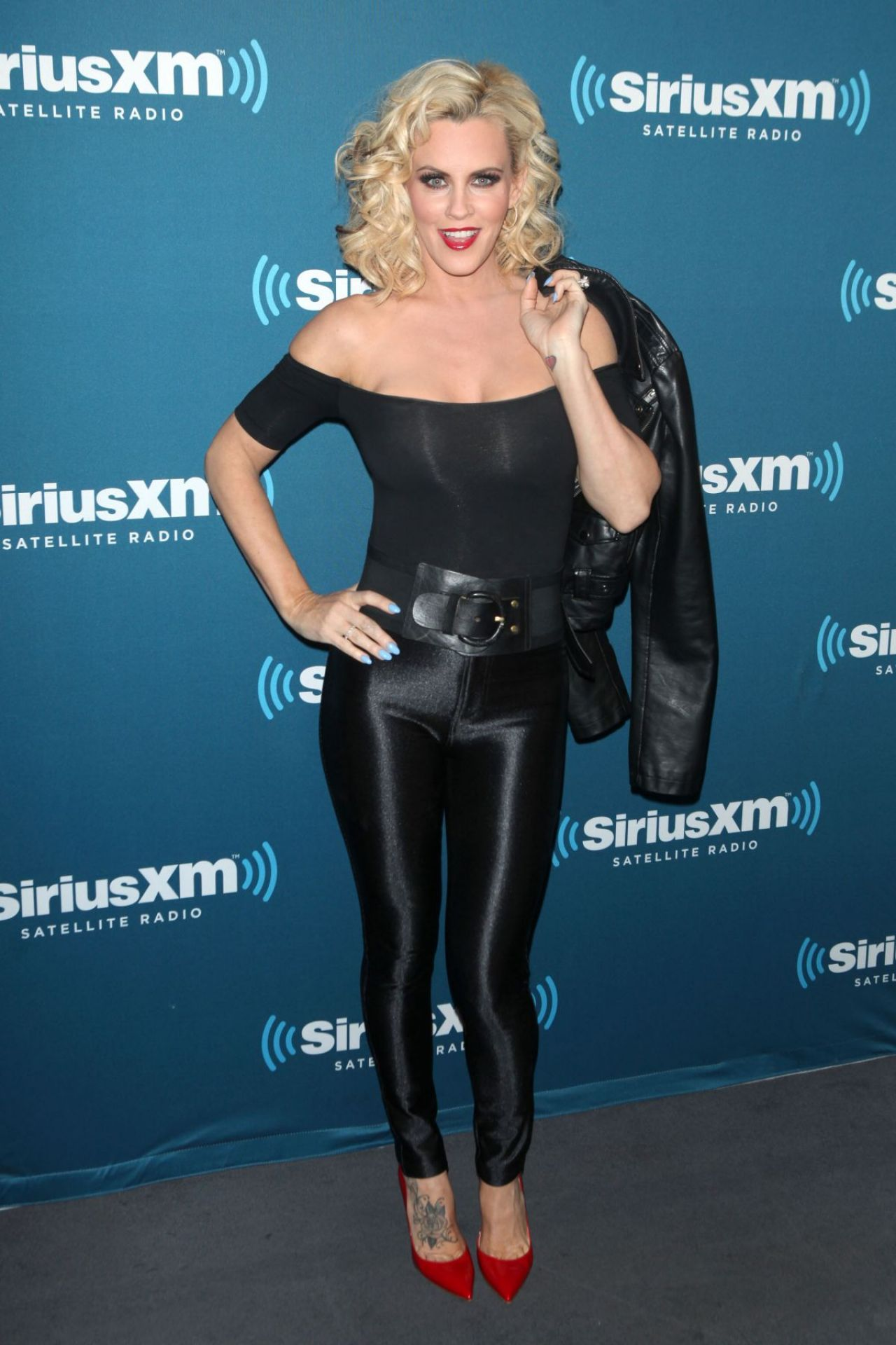 jenny mccarthy - halloween costume party 2014 at siriusxm studios in