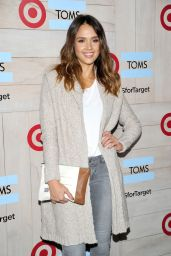 Jessica Alba - TOMS for Target Launch Event in Culver City