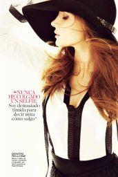 Jessica Chastain - Glamour Magazine (Spain) - December 2014 Issue
