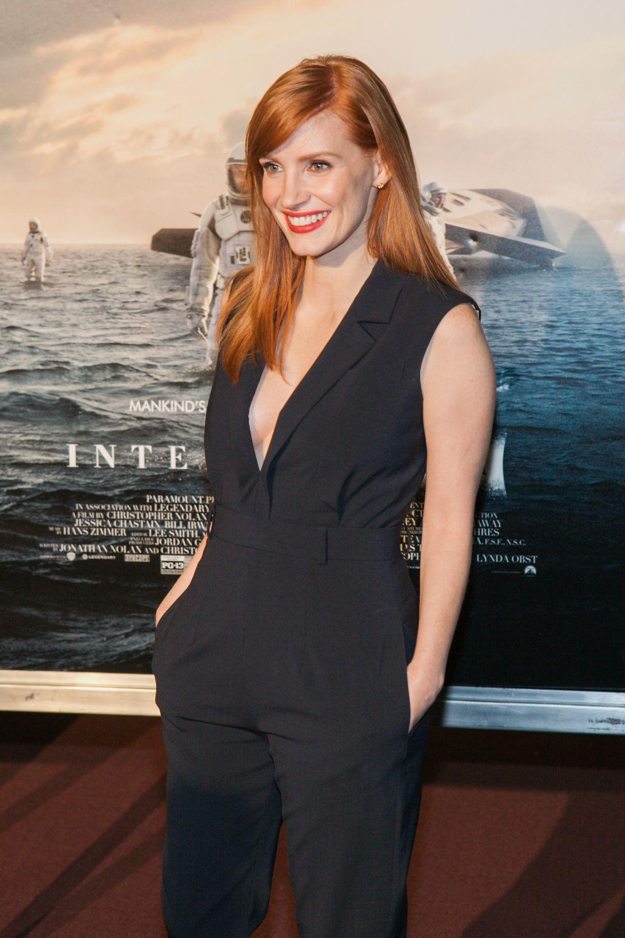Jessica Chastain – 'Interstellar' Premiere in Washington DC