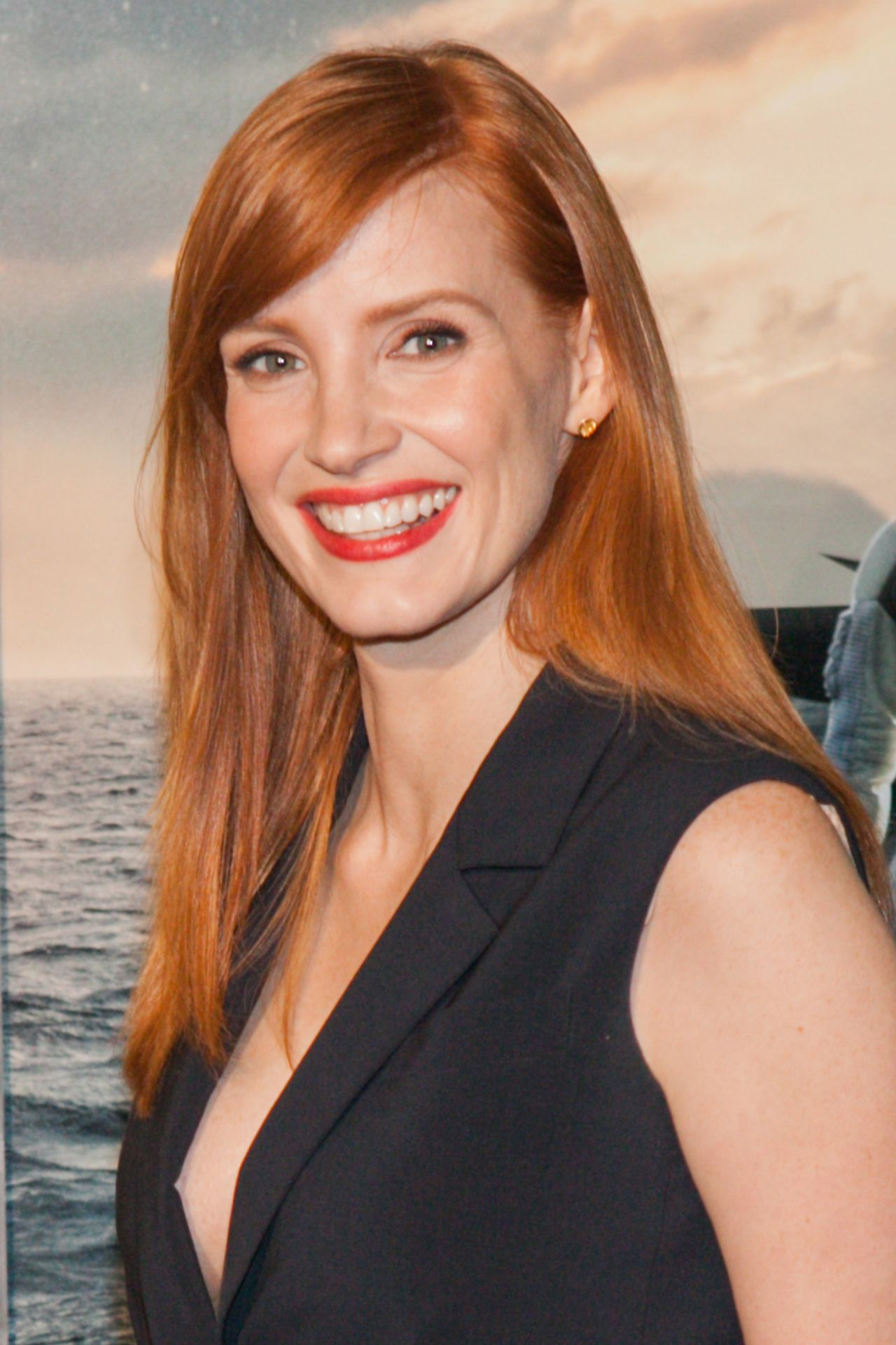 Jessica Chastain Interstellar Premiere In Washington Dc