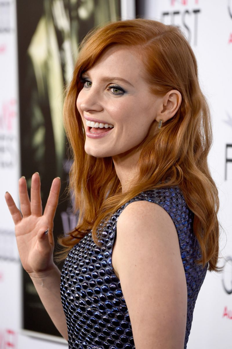 Jessica Chastain On Red Carpet Quot A Most Violent Year
