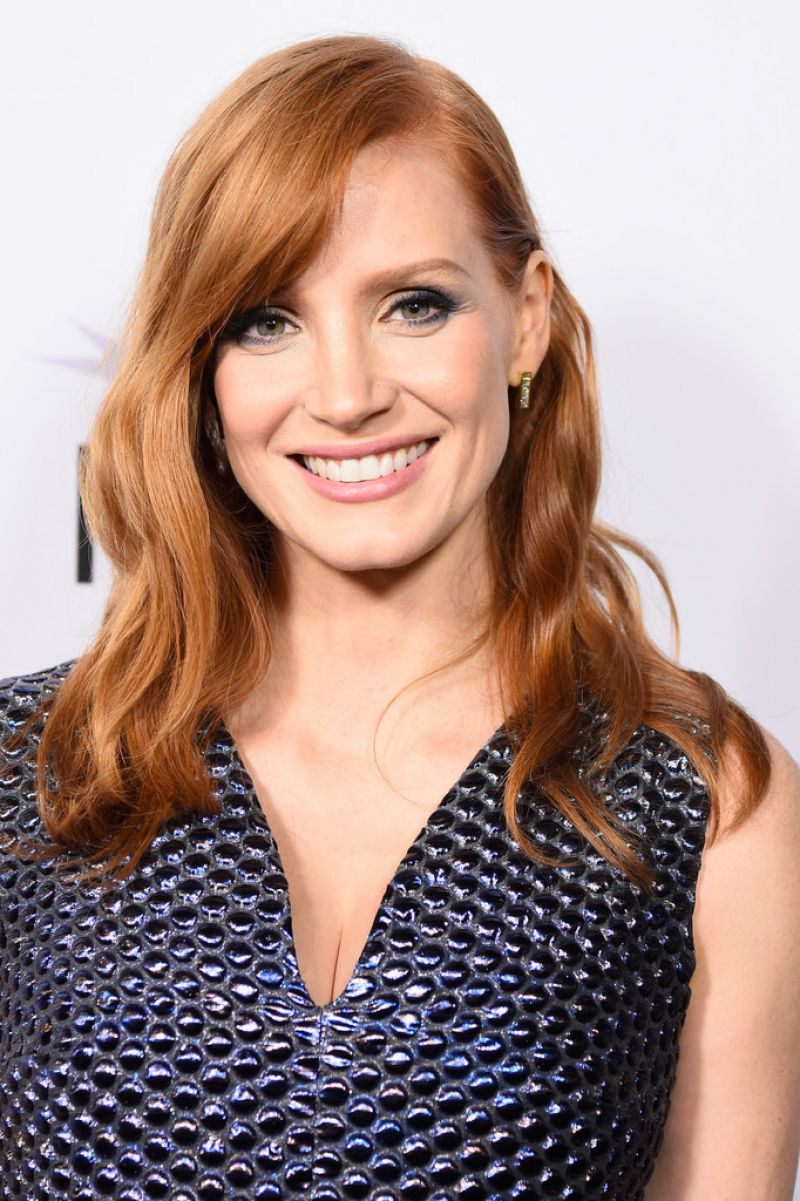 """Jessica Chastain on Red Carpet - """"A Most Violent Year ... Jessica Chastain"""