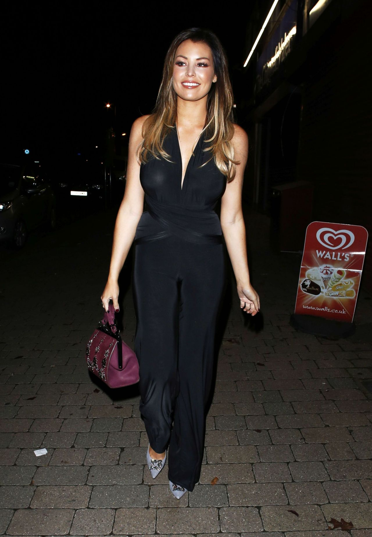 Jessica Wright Night Out Style - Heading to a Family Dinner in Chigwell