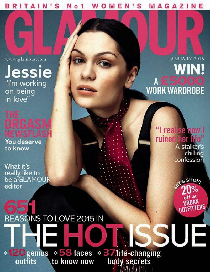 Jessie J - Glamour Magazine (UK) - January 2015 Issue