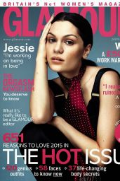 Jessie J - Glamour Magazine (UK) - January 2015 Issue