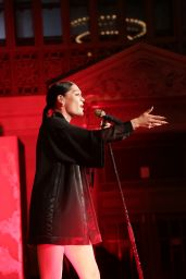 Jessie J Performs at Topshop Topman New York City Flagship Opening Dinner