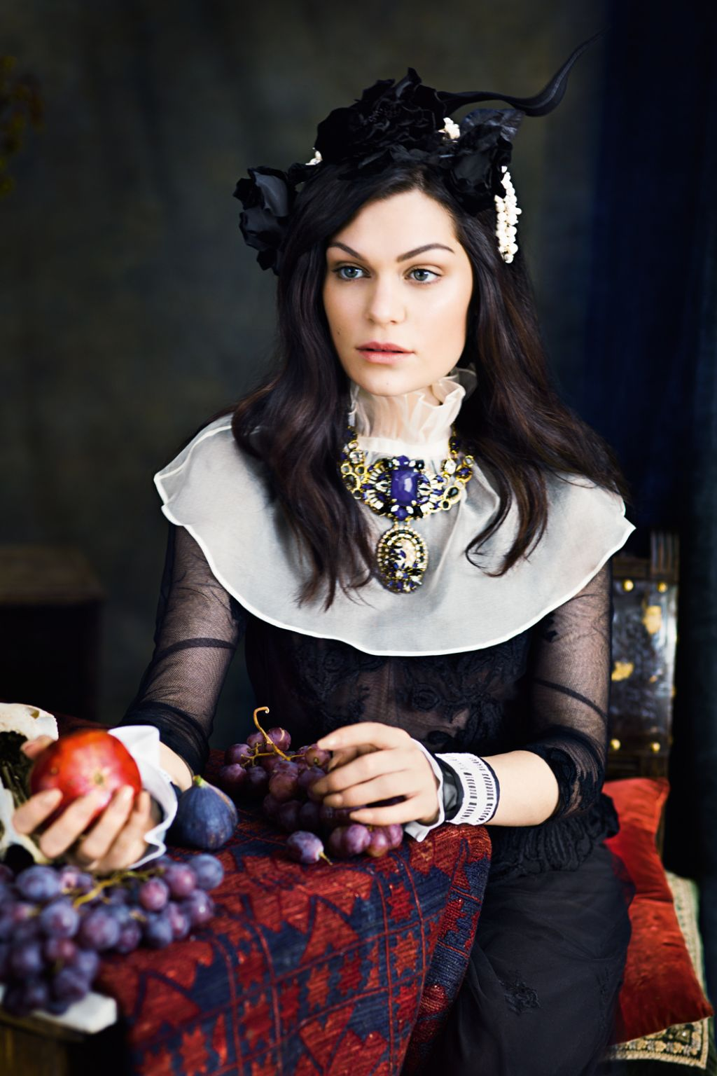 Jessie J - Photoshoot for InStyle Magazine (UK) December 2014