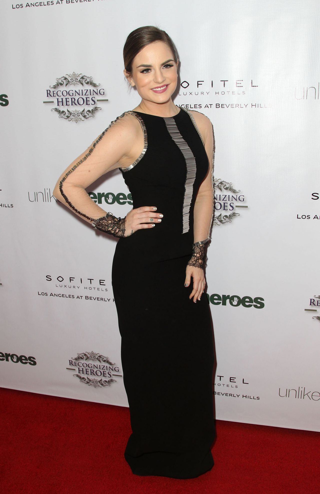 Joanna JoJo Levesque – 2014 Unlikely Heroes Awards Dinner And Gala in Los Angeles