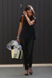 Jordana Brewster - Out in Los Angeles, November 2014